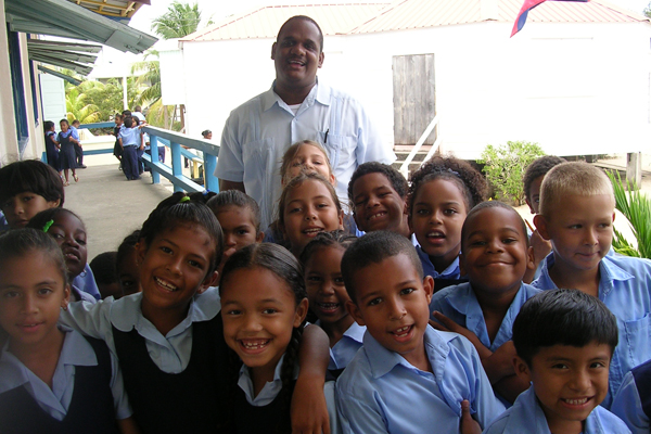 Students at St. John's Memorial Elementary School